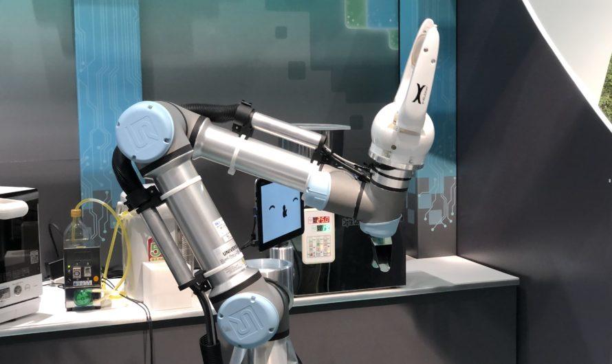 柔らかいカップも扱える!大宮駅でパスタ調理ロボットを体験してきた